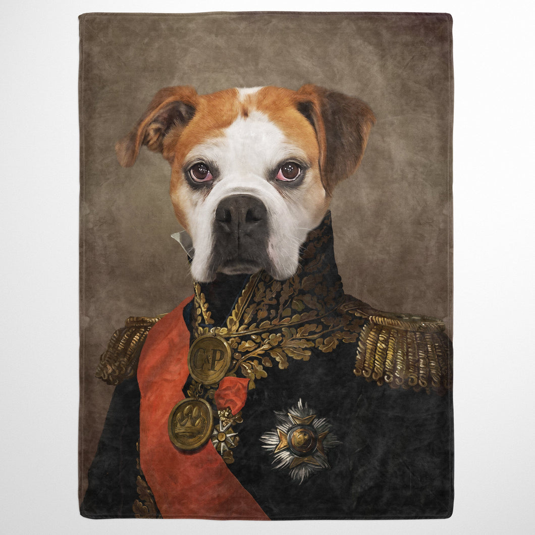 The Major - Custom Pet Blanket