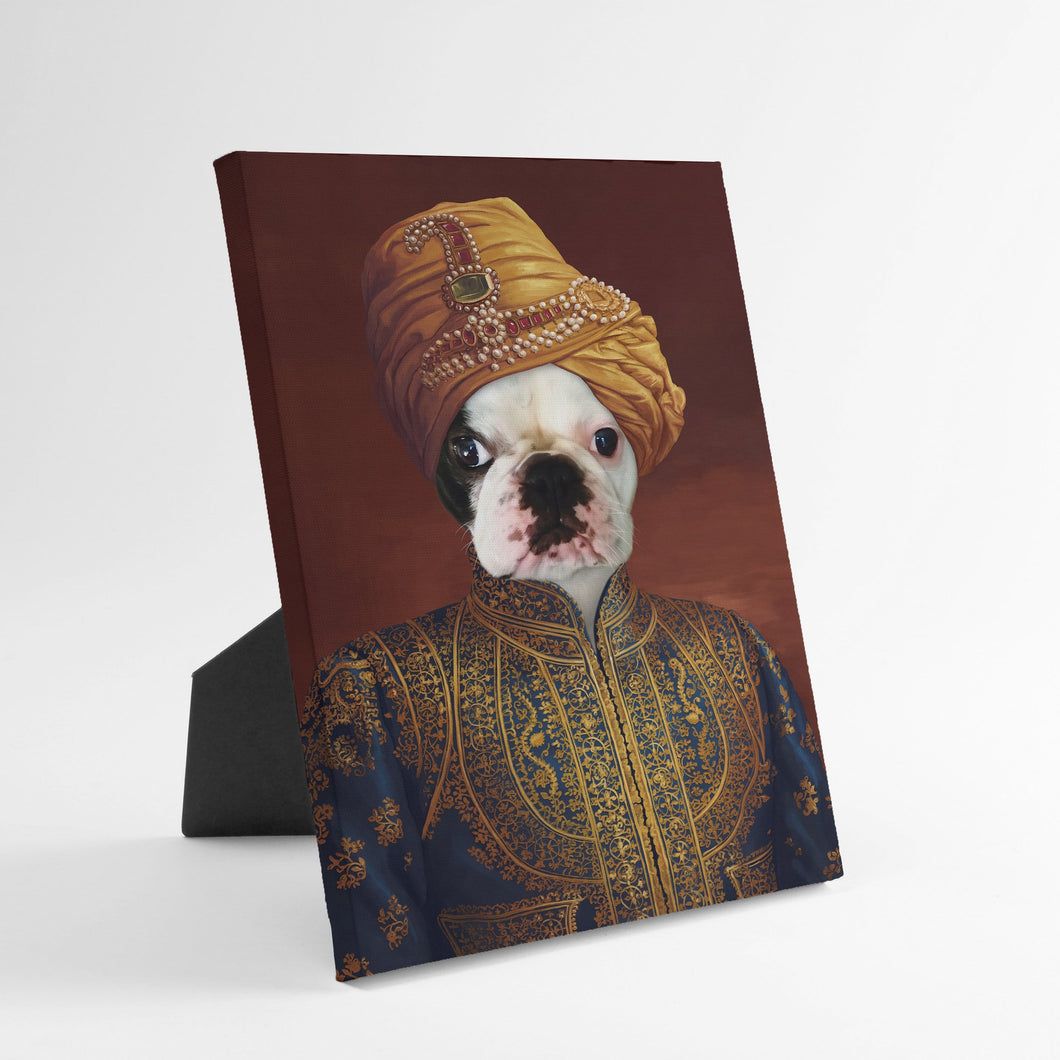 The Indian Raja - Custom Standing Canvas