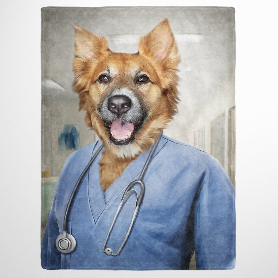 The Nurse - Custom Pet Blanket