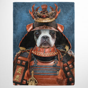 The Samurai - Custom Pet Blanket