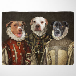 The Three Queens - Custom Pet Blanket