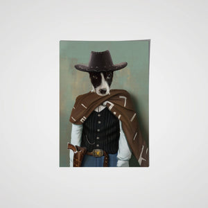The Lone Ranger - Custom Pet Poster