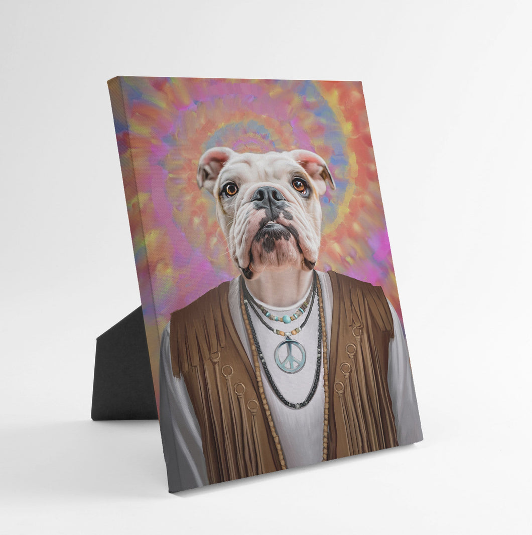 The Hippie - Custom Standing Canvas