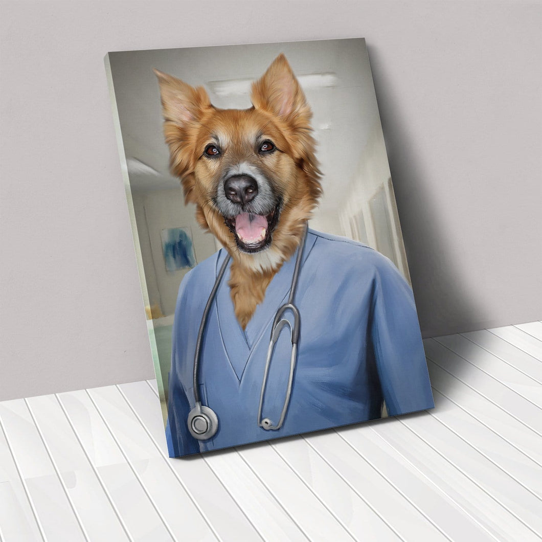 The Nurse - Custom Pet Canvas