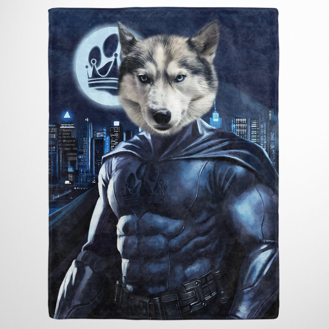 The Dark Hero - Custom Pet Blanket