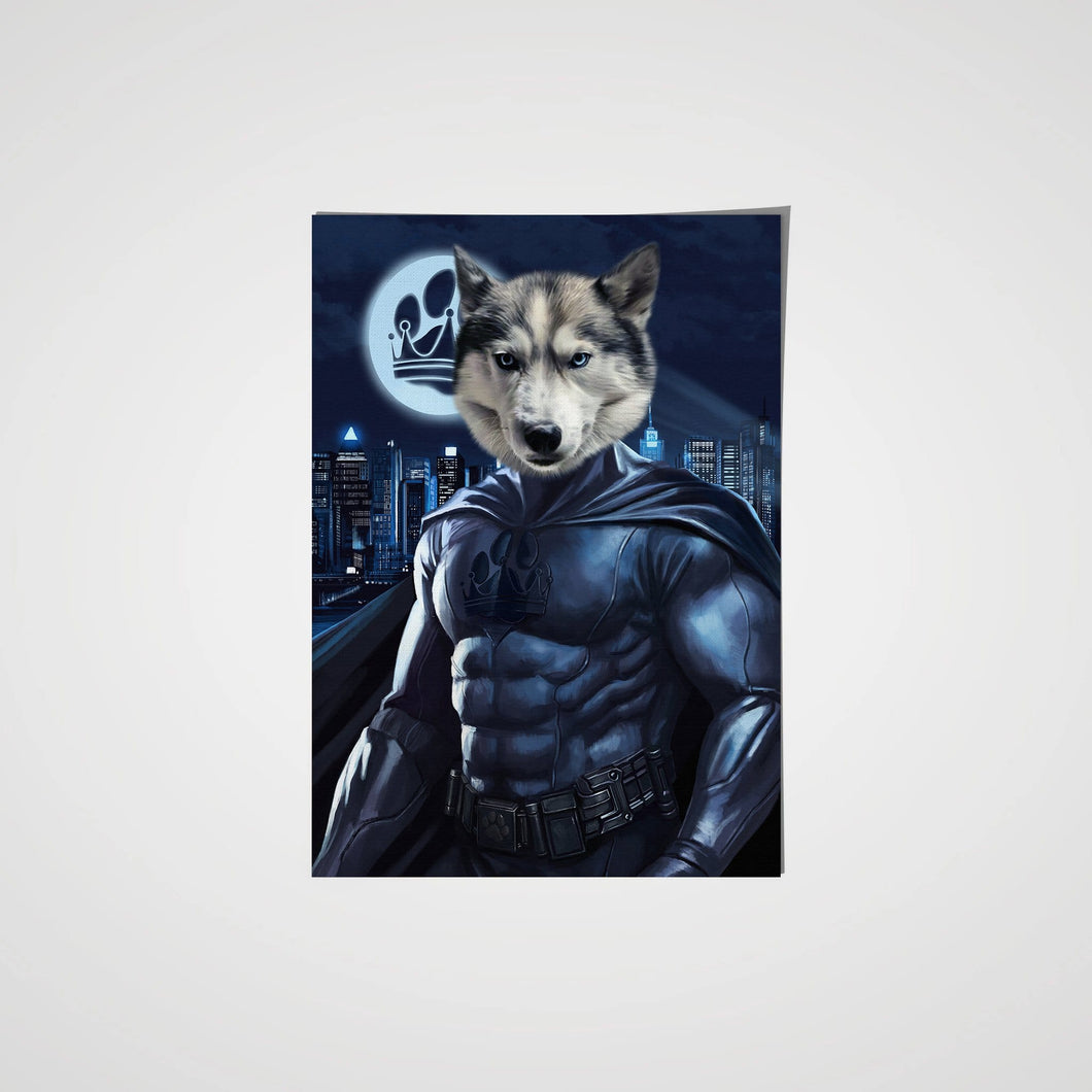 The Dark Hero - Custom Pet Poster