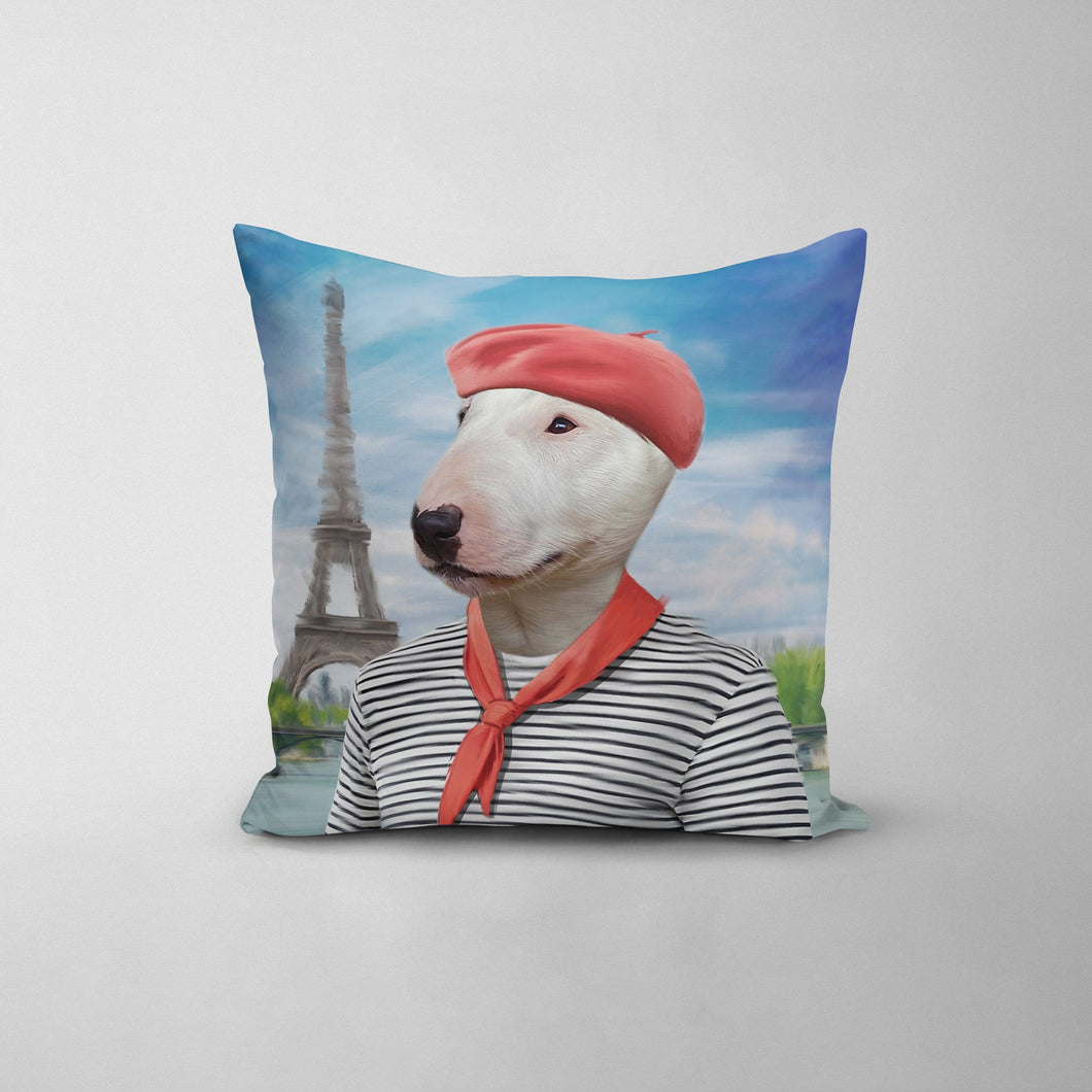 The Frenchie - Custom Throw Pillow