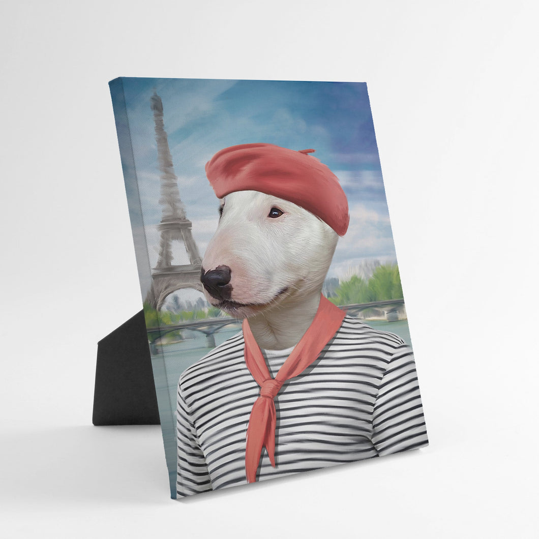 The Frenchie - Custom Standing Canvas