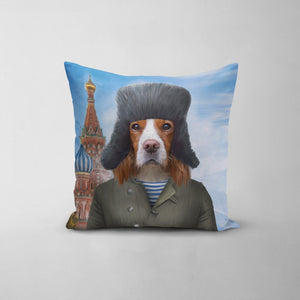 The Russian - Custom Throw Pillow