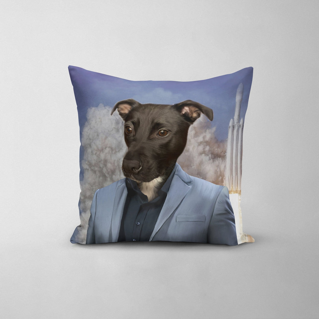The Elon - Custom Throw Pillow
