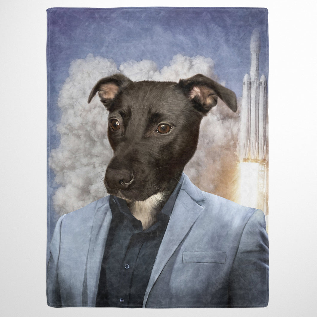 The Elon - Custom Pet Blanket