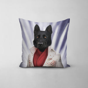 The Rock God - Custom Throw Pillow