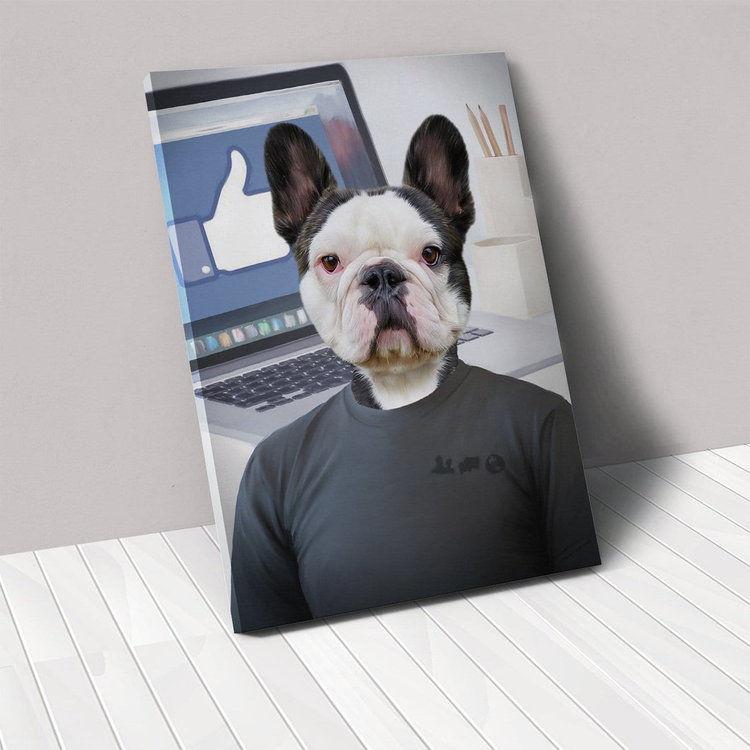 The Zuck - Custom Pet Canvas