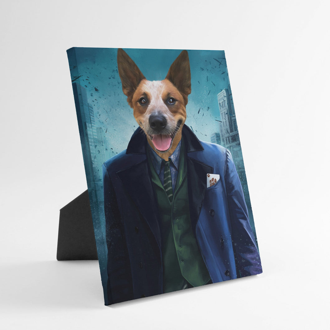 The Bad Guy - Custom Standing Canvas