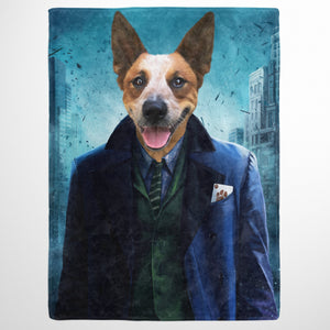 The Bad Guy - Custom Pet Blanket