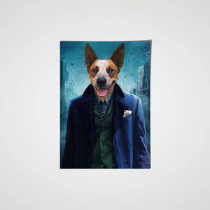 The Bad Guy - Custom Pet Poster