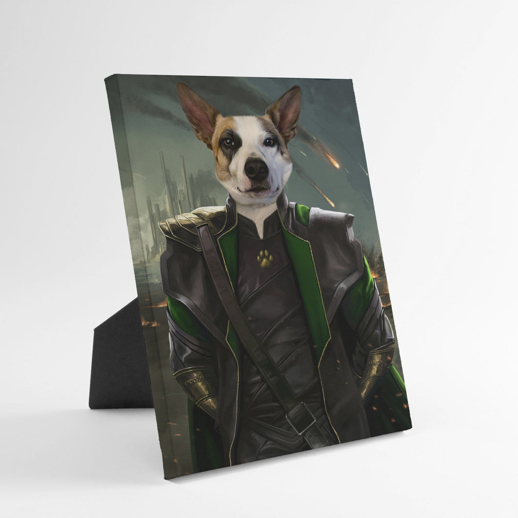 The Mischief God - Custom Standing Canvas