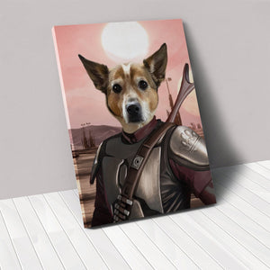 The Space Hunter - Custom Pet Canvas