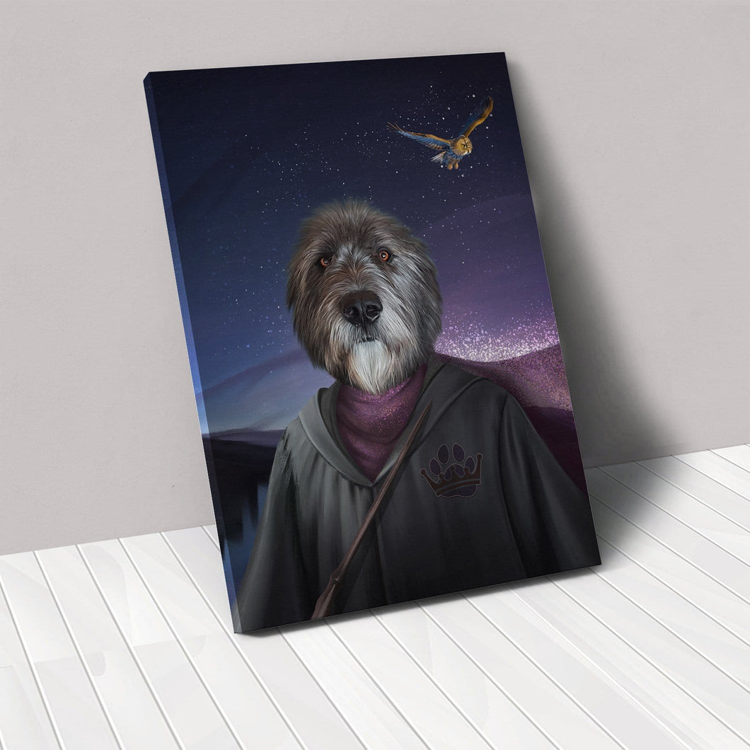 The Wizard - Custom Pet Canvas