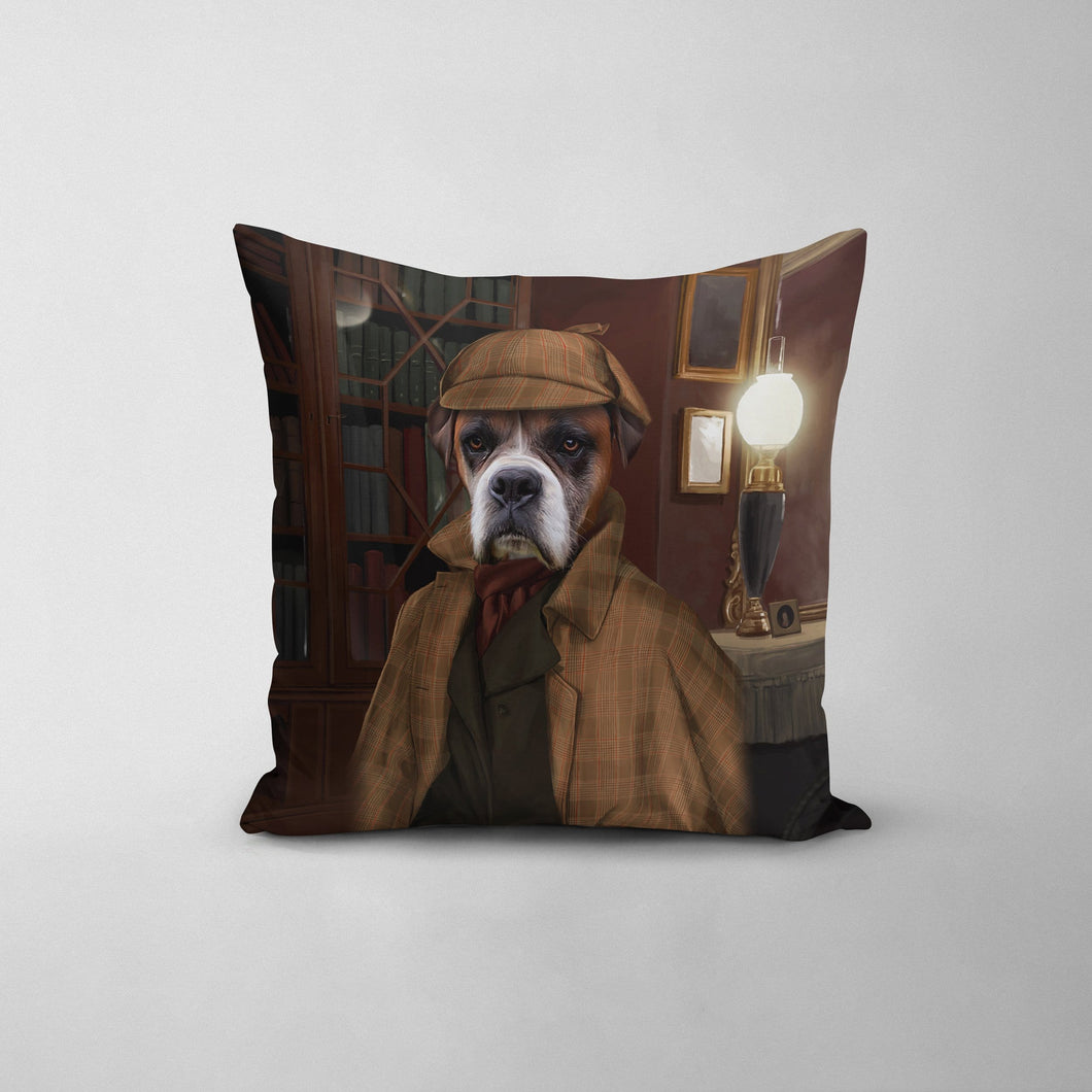 The Detective - Custom Throw Pillow