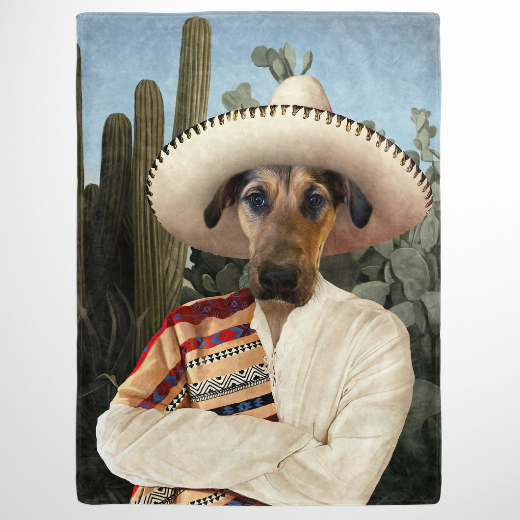 The Mexican - Custom Pet Blanket