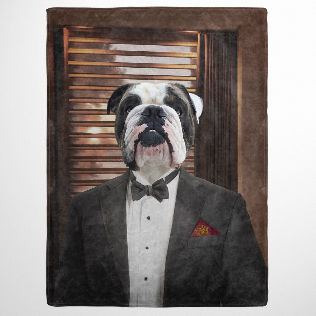 The Mobster - Custom Pet Blanket