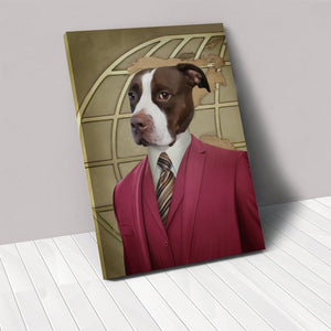 The Reporter - Custom Pet Canvas
