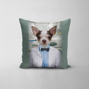 The Scientist - Custom Throw Pillow
