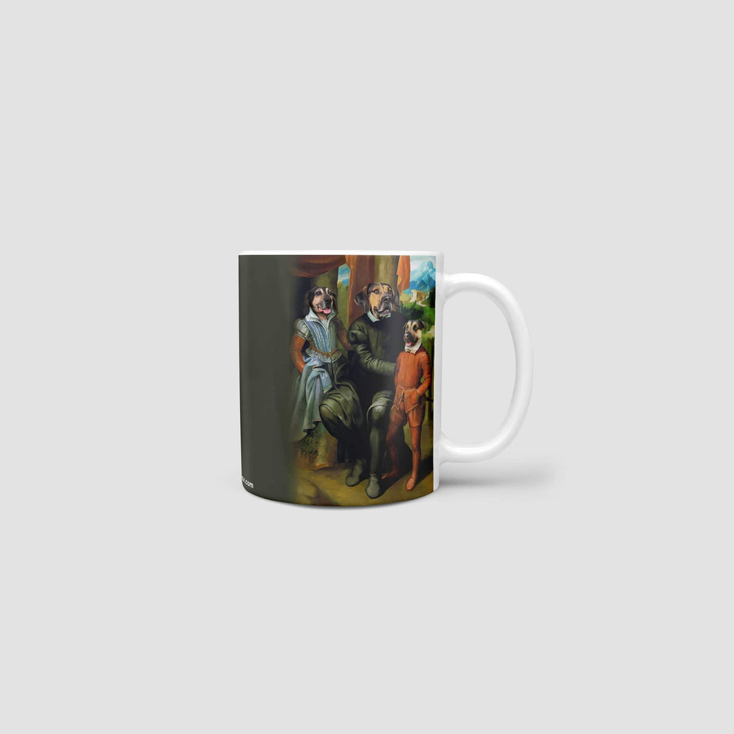 Family of Three - Custom Mug