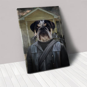 The Survivor - Custom Pet Canvas