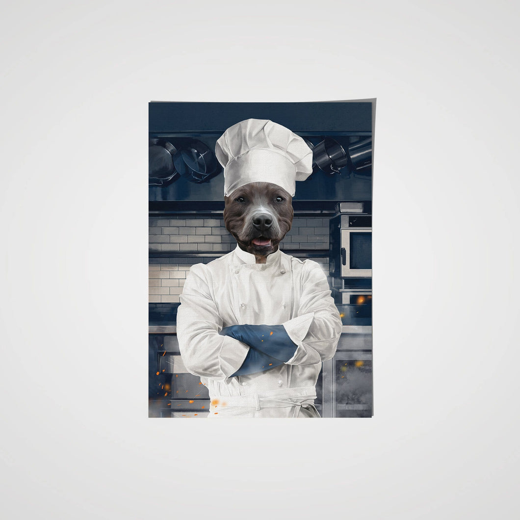 The Chef - Custom Pet Poster
