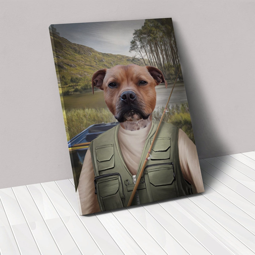 The Fisherman - Custom Pet Canvas