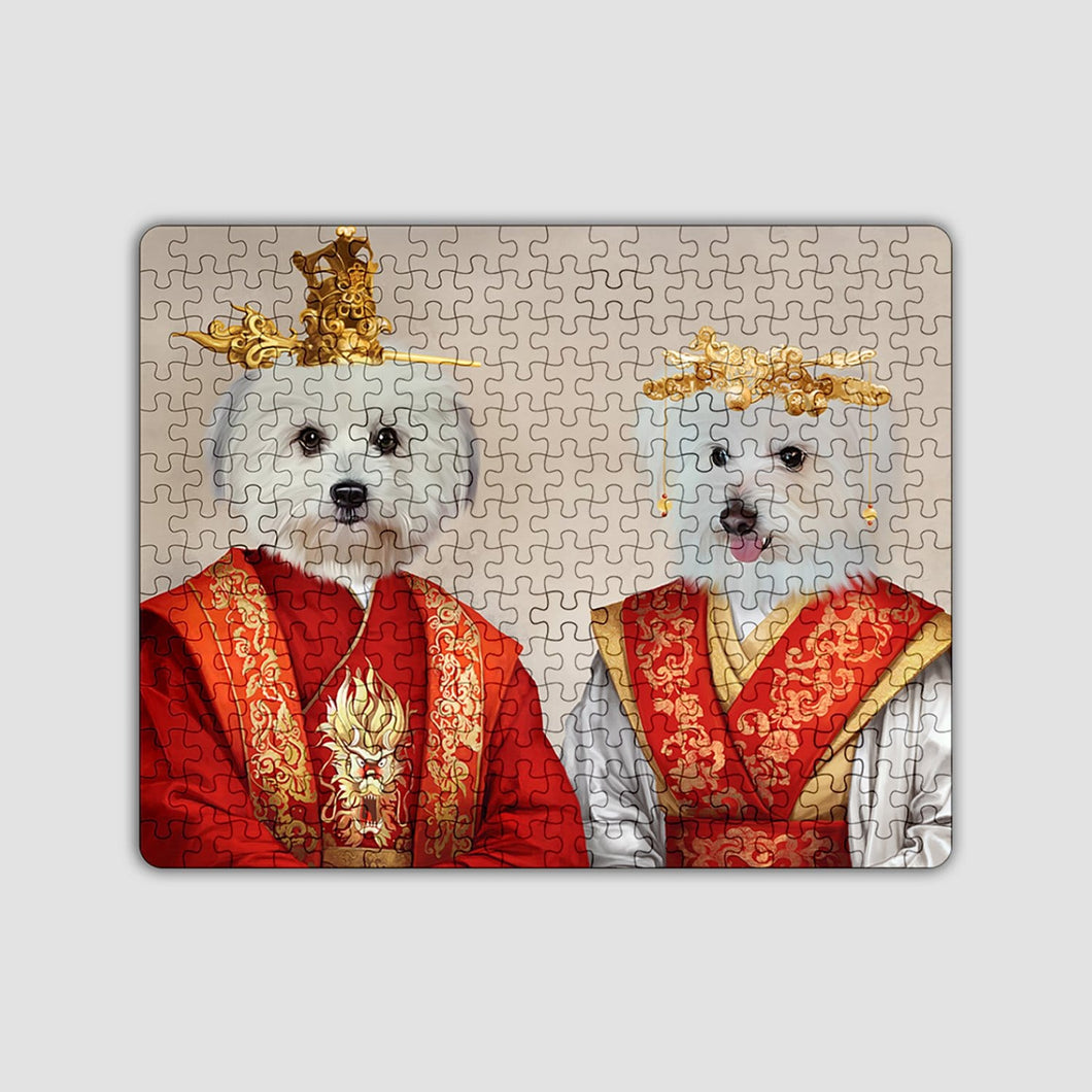 The Asian Rulers - Custom Puzzle