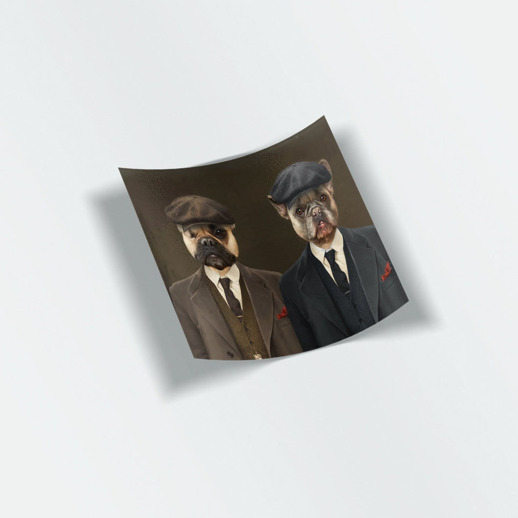 The Peaky Brothers - Custom Stickers