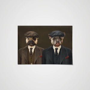The Peaky Brothers - Custom Pet Poster