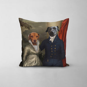 The Dinner Date - Custom Throw Pillow