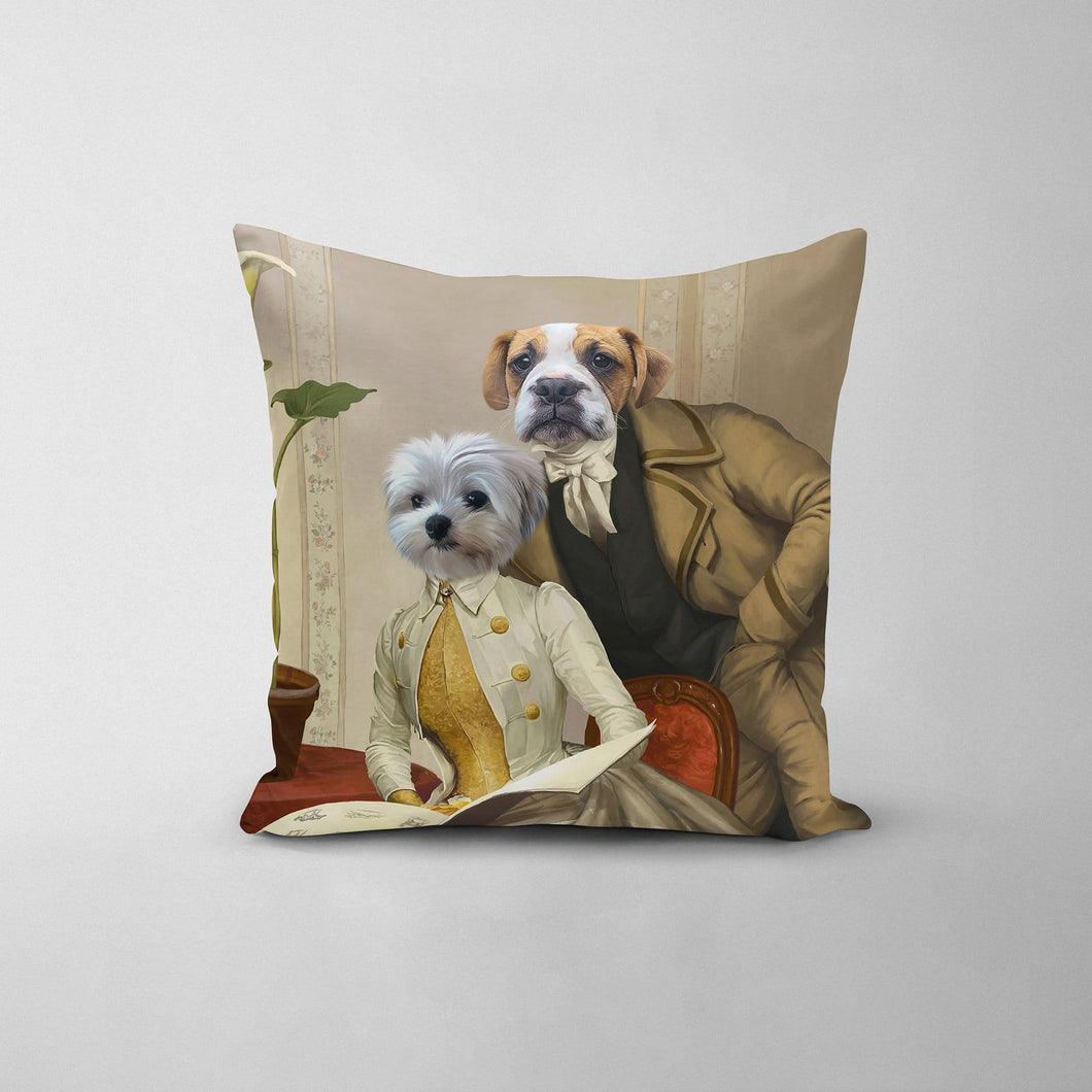 The Betrothed - Custom Throw Pillow