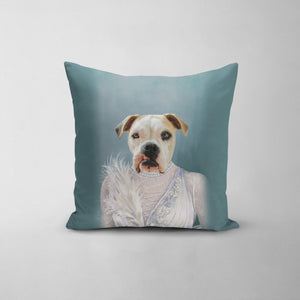 The Ballerina - Custom Throw Pillow