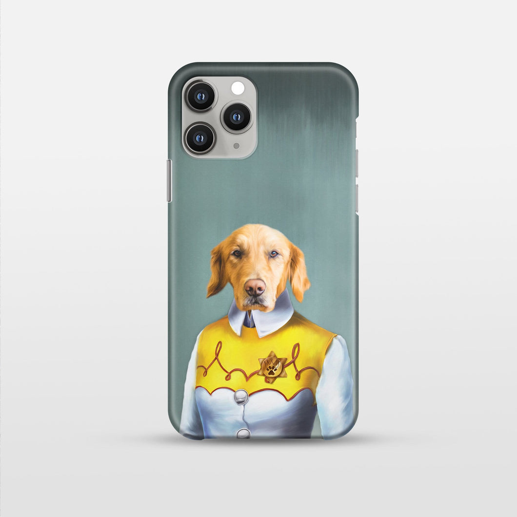 The Cowgirl - Custom Pet Phone Case