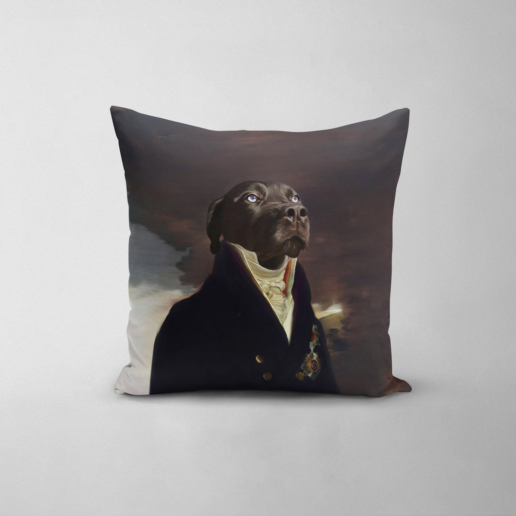 The Count - Custom Throw Pillow