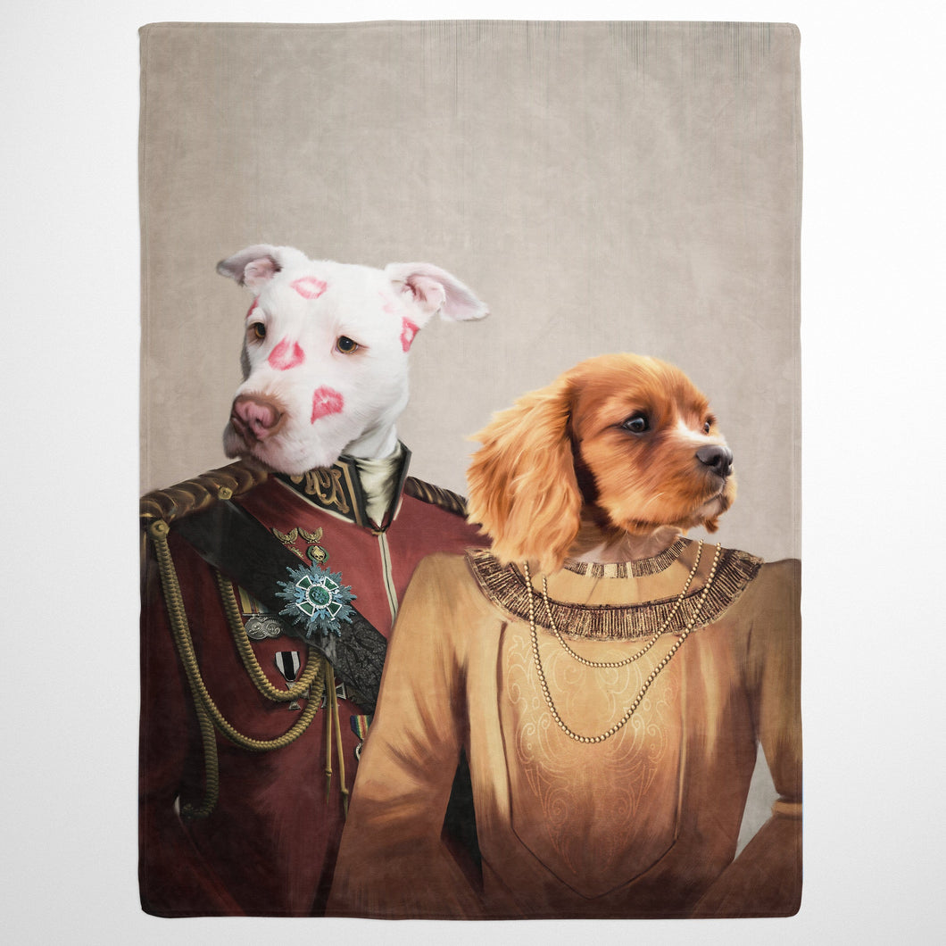 The Lord And Lady - Custom Pet Blanket