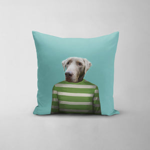 The Green Candy Cane - Custom Throw Pillow