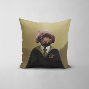 Hufflewoof - Custom Throw Pillow