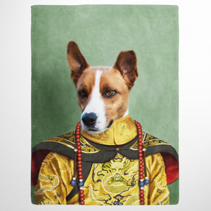 The Chinese Emperor - Custom Pet Blanket