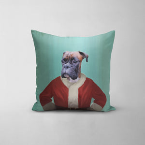 The Santa Claus - Custom Throw Pillow