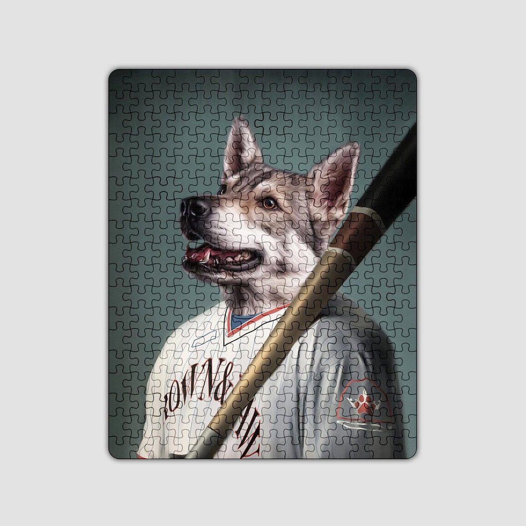 The Baseball Player - Custom Puzzle