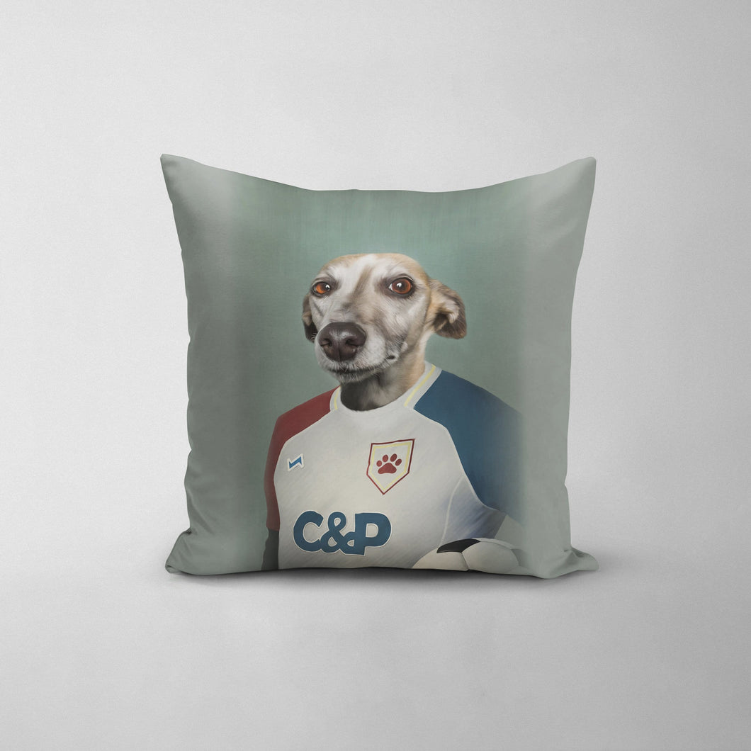 The Soccer Player - Custom Throw Pillow