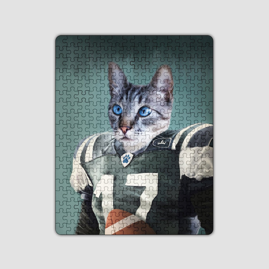 The Football Player - Custom Puzzle