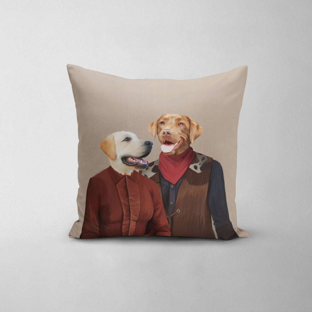The Outlaws - Custom Throw Pillow
