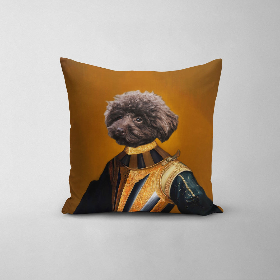 The Knight - Custom Throw Pillow